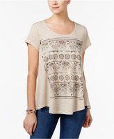 Style&Co. Style & Co Elephant Graphic T-Shirt, Only at Macy's