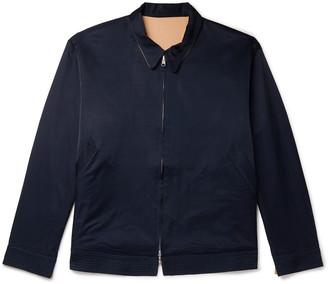 Chimala Reversible Satin Blouson Jacket