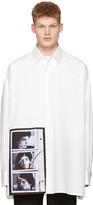 Raf Simons Off-white Robert Mapplethorpe Edition Self Portrait Oversized Shirt