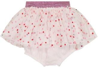 Stella McCartney Kids Baby polka-dot tulle skirt