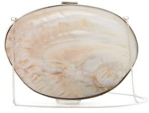 Jil Sander Seashell Purse-pendant Necklace - Womens - Multi