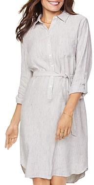NYDJ Textured Shirt Dress