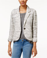 American Rag One-Button Knit Blazer, Only at Macy's