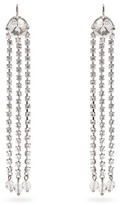 Miu Miu Crystal-embellished drop earrings