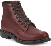 "Chippewa Men's Limited Edition 6"" Lace-Up Service Boot Round Toe Mahogany"
