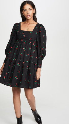 Rachel Antonoff Christa Empire Mini Dress