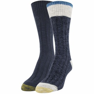 Gold Toe Women's Willow Creek Crew Socks 2 Pairs