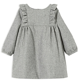 Jacadi Girls' Ruffled Dress - Baby