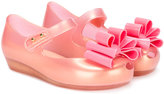 Mini Melissa triple bow ballerinas
