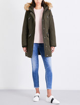 MICHAEL Michael Kors Faux-fur hooded shell parka