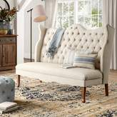 Birch Lane Janell Tufted Bedroom Upholstered Bench Heritage Upholstery: Beige