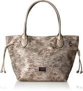 Gabor Granada Star, Women's Shoulder Bag, Silber (Altsilber), 13x29x46 cm (wxhxd)