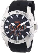 HUGO BOSS Men's 1512950 Silicone Analog Quartz Watch