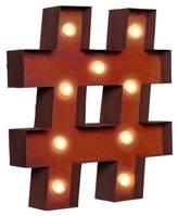 LIFESTYLE BRANDS Vintage Retro Lights and Signs Symbol