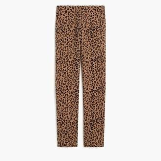 J.Crew Leopard Jamie pant