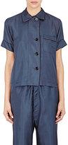 Araks Women's Shelby Pajama Top-NAVY, BLUE
