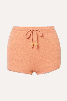 Peony Swimwear + Net Sustain Metallic Jacquard Bikini Briefs