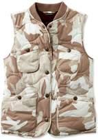 L.L. Bean L.L.Bean Signature Packable Quilted Vest, Print