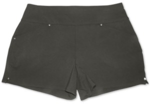 INC International Concepts Inc Bengaline Pull-On Shorts, Created for Macy's