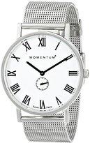 Momentum Women's 1M-CD01W0 Monroe Analog Display Swiss Quartz Silver Watch