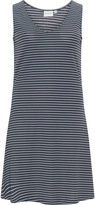 Junarose Plus Size Sleeveless ribbed jersey dress