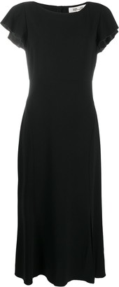 Dvf Diane Von Furstenberg Open Back Dress
