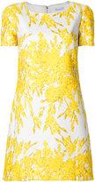 Blumarine scalloped floral dress