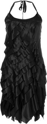 Prada Pre-Owned Layered Mini Dress