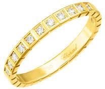 Chopard Ice Cube Mini Diamond Ring in 18K Yellow Gold, Size 54