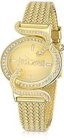 Just Cavalli Sin JC Stainless Golden Steel Women's Watch