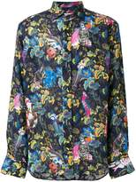 Etro tropical-print shirt