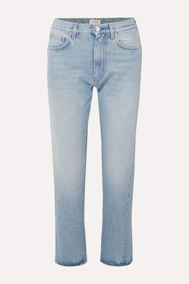 Totême Original Mid-rise Straight-leg Jeans - Light denim