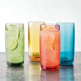 DuraClear® Highball Glasses, Multicolor
