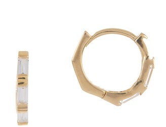 KARAT RUSH 14K Gold Huggie Earrings