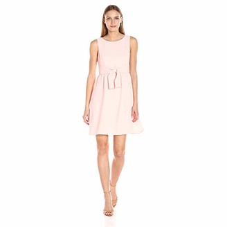 Adrianna Papell Women's Cameron Txrd Woven Bow Dress