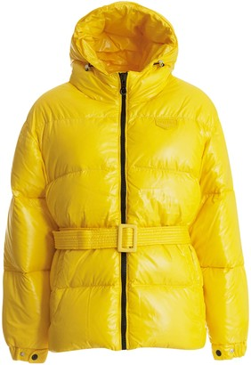 Duvetica Hooded Belted Puffer Jacket
