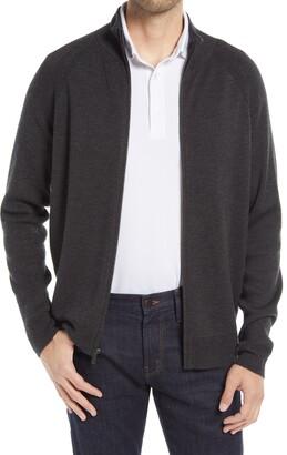 Nordstrom Tech-Smart Zip Front Cardigan