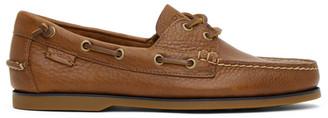 Polo Ralph Lauren Tan Merton Boat Shoe Loafers