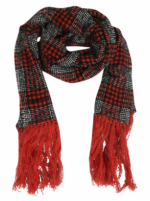 Destin Surl Fringes Long Scarf