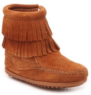 Minnetonka Thea Double Fringe Boot - Kids'