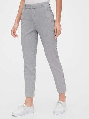 Gap Slim Ankle Seersucker Pants