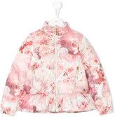 Roberto Cavalli printed padded jacket