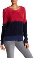Pam & Gela Ombre Side Slit Sweater