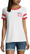 Arizona Mermaid in the USA Graphic T-Shirt- Juniors