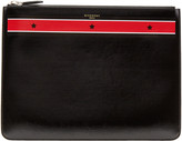 Givenchy Black & Red Stars Zip Pouch