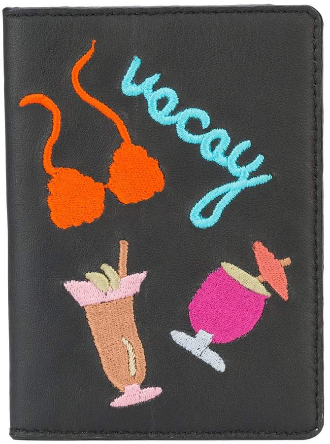 Lizzie Fortunato vacay passport case