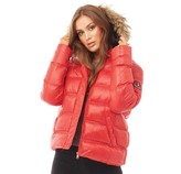 Thumbnail for your product : Brave Soul Womens Hopshine Jacket Red