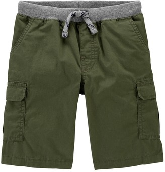 Carter's Boys 4-14 Pull-On Cargo Shorts