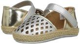 Baby Deer Metallic Espadrille Sandal Girls Shoes