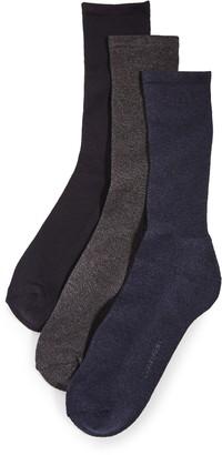 Calvin Klein Underwear 3 Pack Cushion Dress Socks